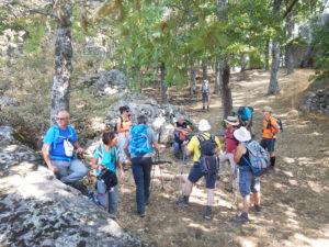 Escursioni e Trekking nel Parco di Gallipoli Cognato Piccole Dolomiti LUane